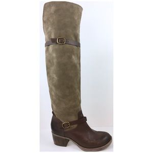 LUCKY BRAND ROLLER OVER-the-KNEE BOOTS Sz. 7.5